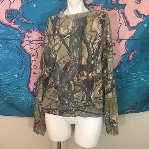 Outfitters Ridge camouflage long sleeve shirt